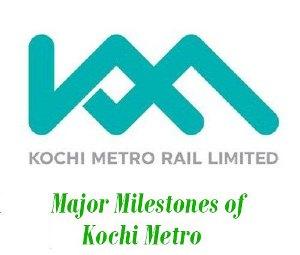 Milestones of Kochi Metro