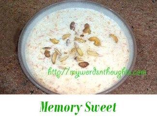 Memory Sweet