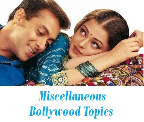 Topics Bollywood