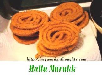Mullu Murukk