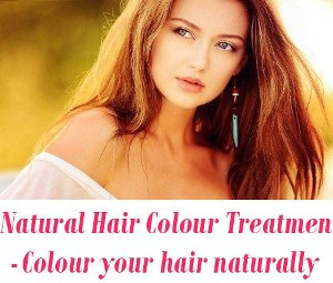 Natural Hair Colour Treatment