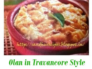 Olan in Travancore Style