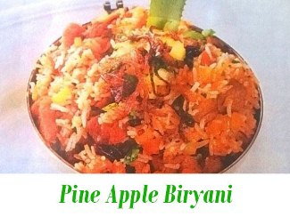 Pine Apple Biryani