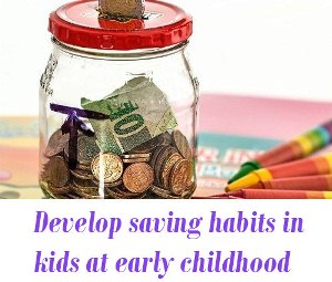 Saving habits in kids