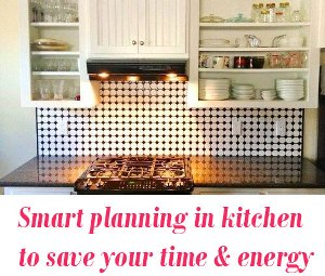 Smart planning in your kitchen
