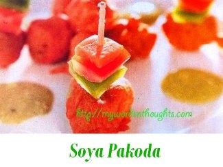 Soya Pakoda