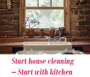 Start house cleaning