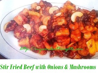 Stir Fried Beef with Onions