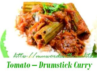 Tomato – Drumstick Curry