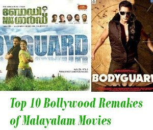 Bollywood Remakes of Malayalam Movies