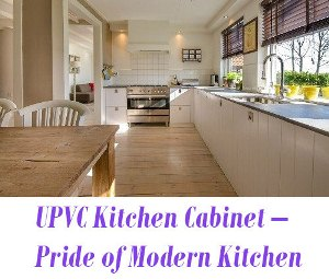 UPVC Kitchen Cabinet