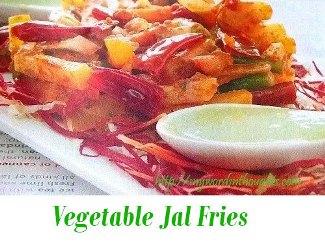 Vegetable Jaal Fries