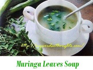 muringa ila soup
