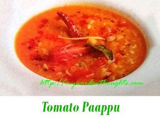 tomato paappu