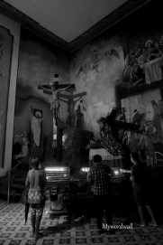 The Crucifixion Grotto - San Sebastian Cathedral