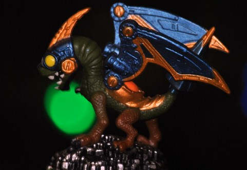 My son got insulted when I called this figure a dinoasaur when in fact, according to him, it is a dragon in armor.