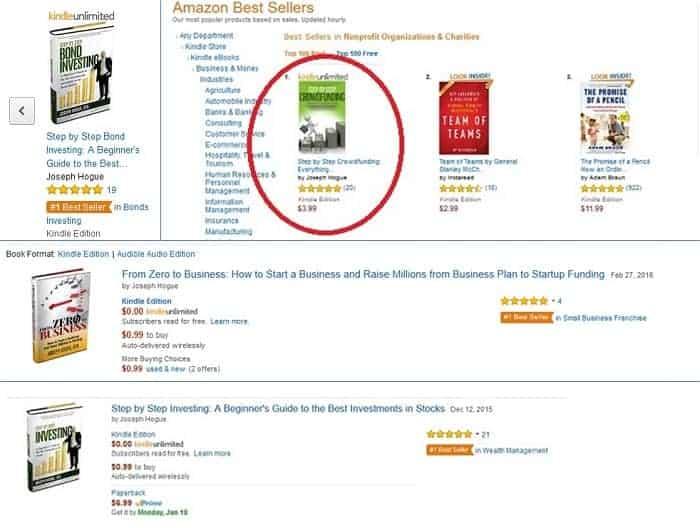 rendendo facile la classifica dei best seller di Amazon