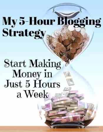 strategia di blogging part-time