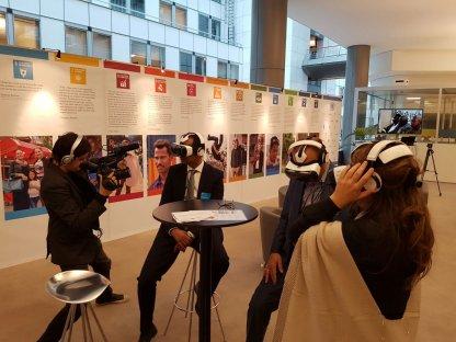 SDG Action Hub at the European Parliament Photo: UN Brussels