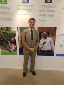 Jeffrey Sachs Photo: UN Brussels