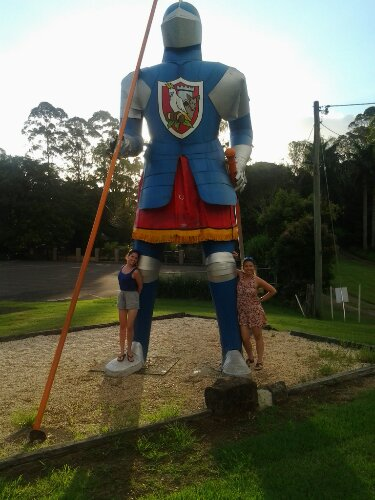 Big Knight at Macadamia Castle