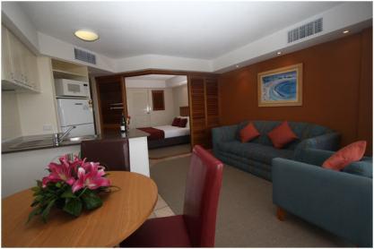 WorldMark Resort Golden Beach apartment interior