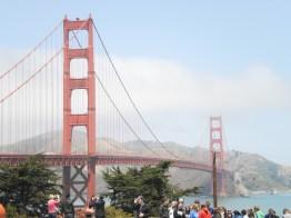 Spot the Tourist at Golden Gate Bridge