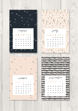 Oh the beautiful things 2014 Calendar