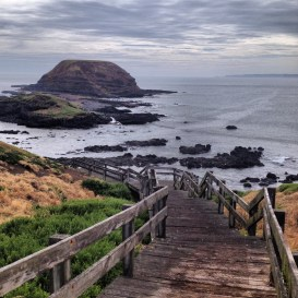 Victoria - Phillip Island on a cloudy day