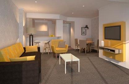 1-Bedroom apartment at Wyndham Crown Towers
