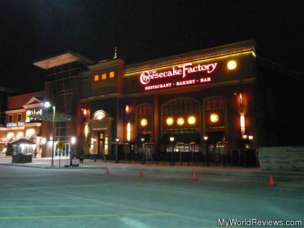 Review Of The Cheesecake Factory At