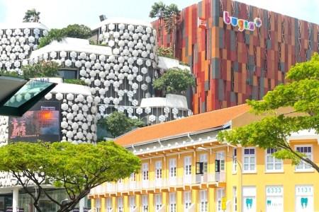 Singapur Stadtansicht Bugs