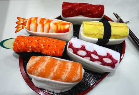 Bentobox, Sushisocke, Sushi, Mitbringsel, Socken
