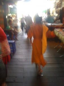 Wat Pho, Mönch