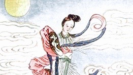 Chang'e, Hou Yi, Mondfest, Asien
