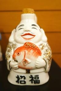 Japanische Flasche für Sojasauce