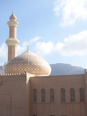 Oman, Fort Nizwa, Moschee