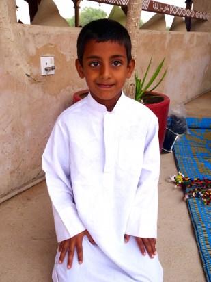 Oman, Beduinenjunge, Wahiba, Wüste