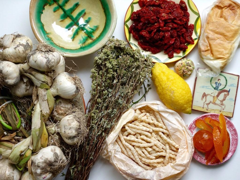 Kulinarische Mitbringsel aus Sizilien,