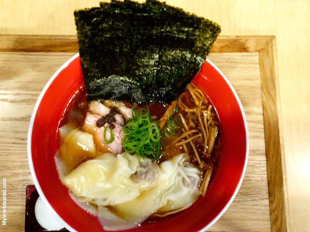 Ramen bei Tsuta in Tokio, Michelin-Stern