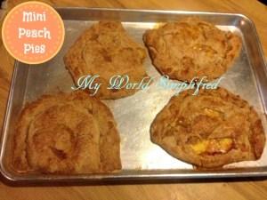 Individual Peach Pies