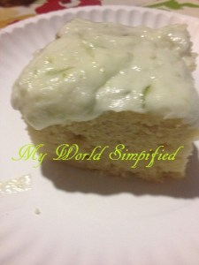 key lime frosting