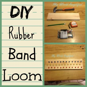 How to make Rubber Band Bracelet Loom Pattern