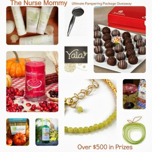 Giveaway for the Ultimate Pamper Package