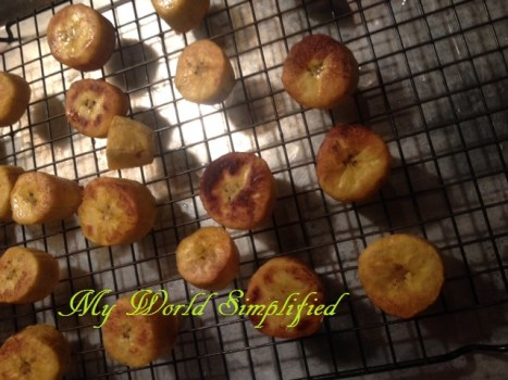 plantain first fry