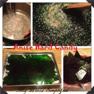 Day 28: Anise Hard Candy