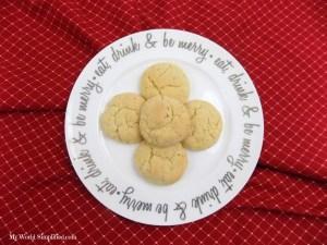 Eggnog Snickerdoodle Cookies Recipe