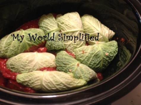 crockpot stuffed cabbage