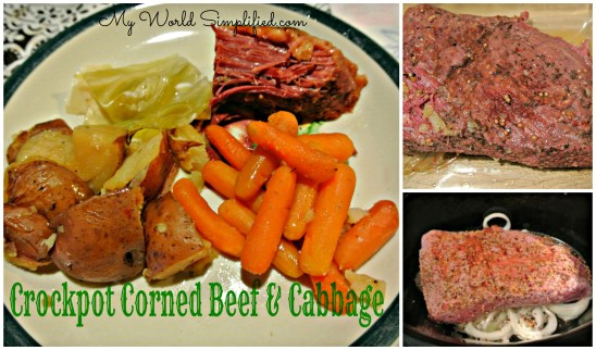 Corned beef and cabbage crockpot