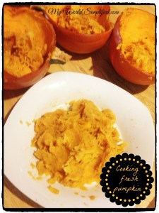 How to Cook Fresh Pumpkin EASILY